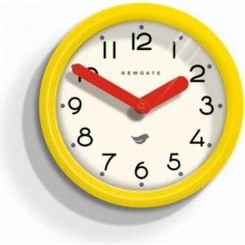 Newgate Pantry Citrus Yellow Wall Clock