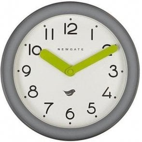 Newgate Pantry Clockwork Grey Wall Clock