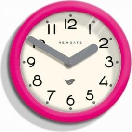 Newgate Pantry Hot Pink Wall Clock