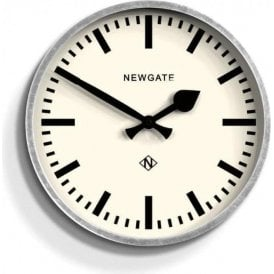Newgate The Luggage Galvenised Wall Clock