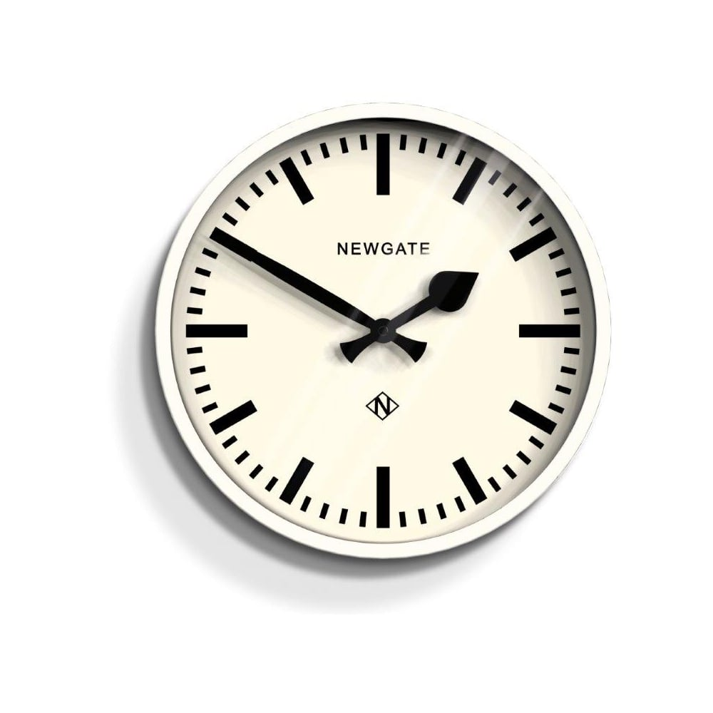 Newgate The Luggage Linen White Wall Clock By Home Of The Sofa