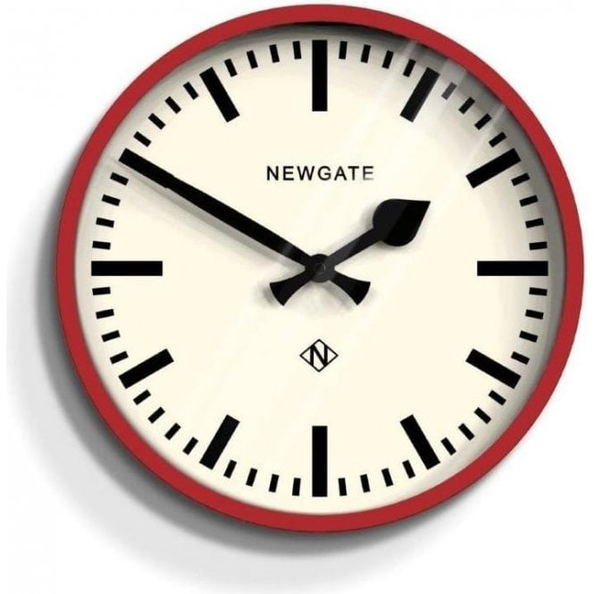 Newgate The Luggage Red Wall Clock