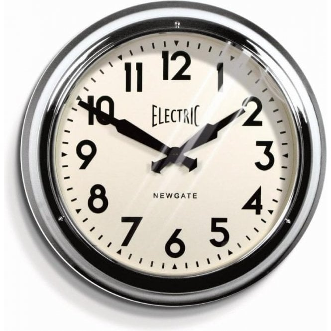 Newgate Vintage Electric Station Clock