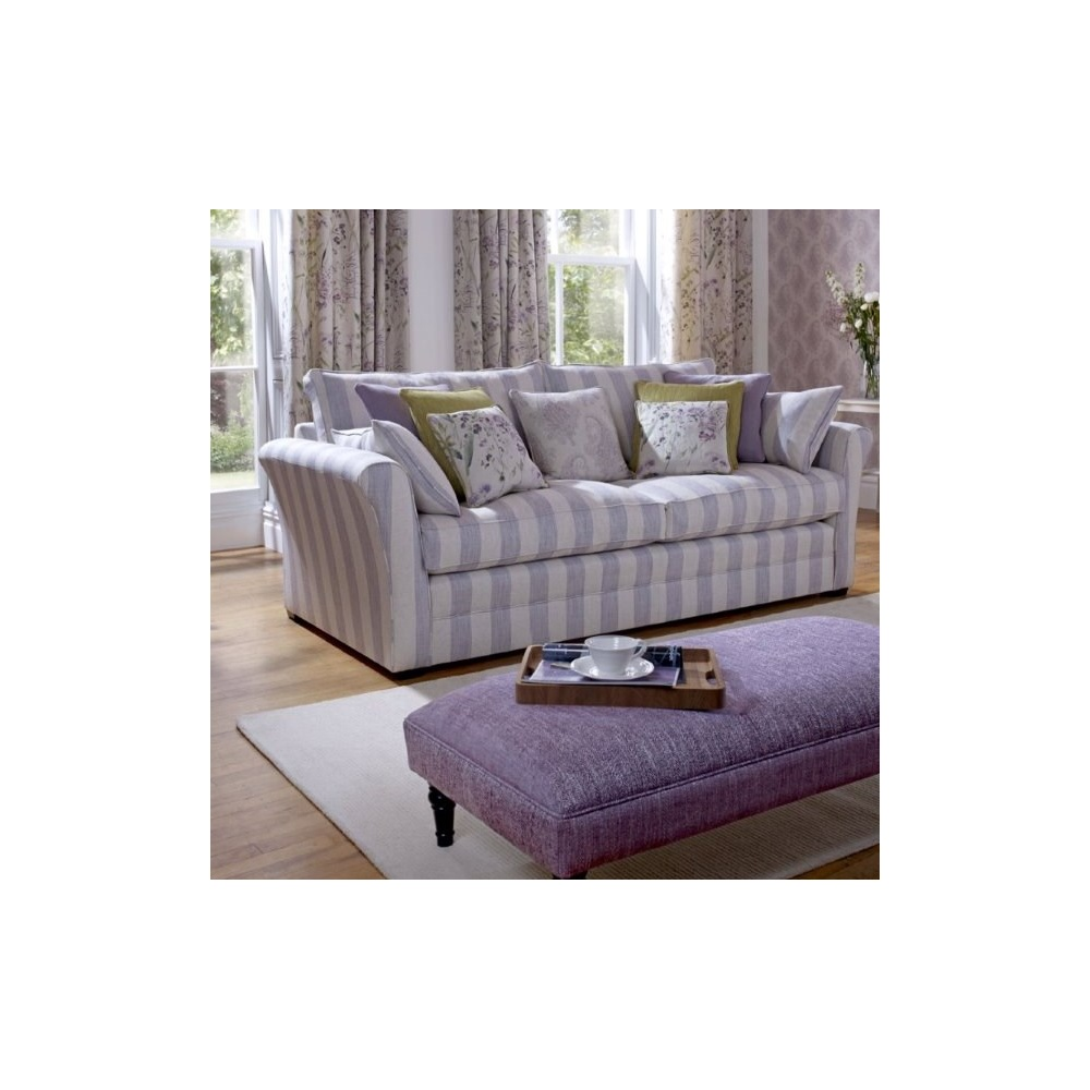 Norfolk large 4 seater sofa long eaton upholstery by home for Loose covers for sofa elegant motif