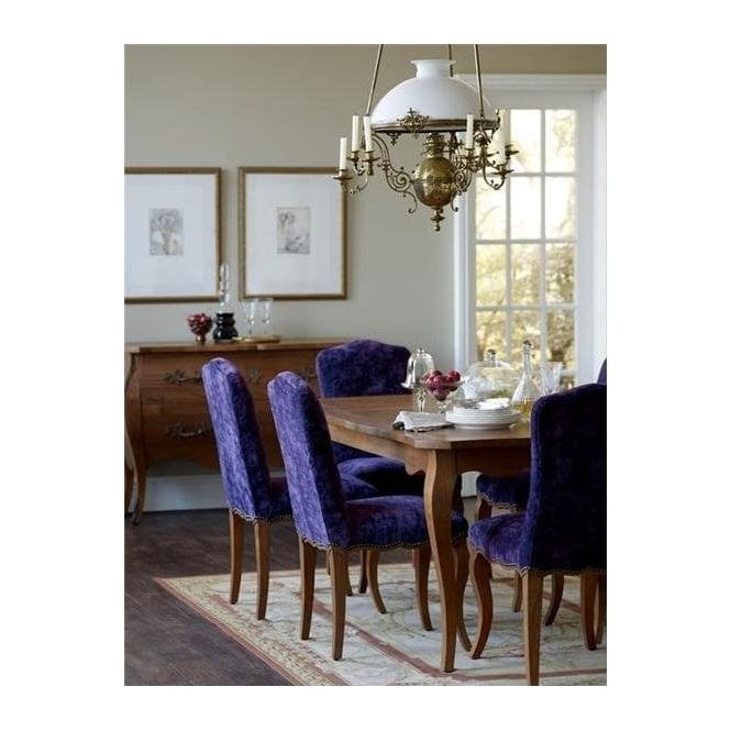 Parisienne Teak Dining Table and Six Chairs