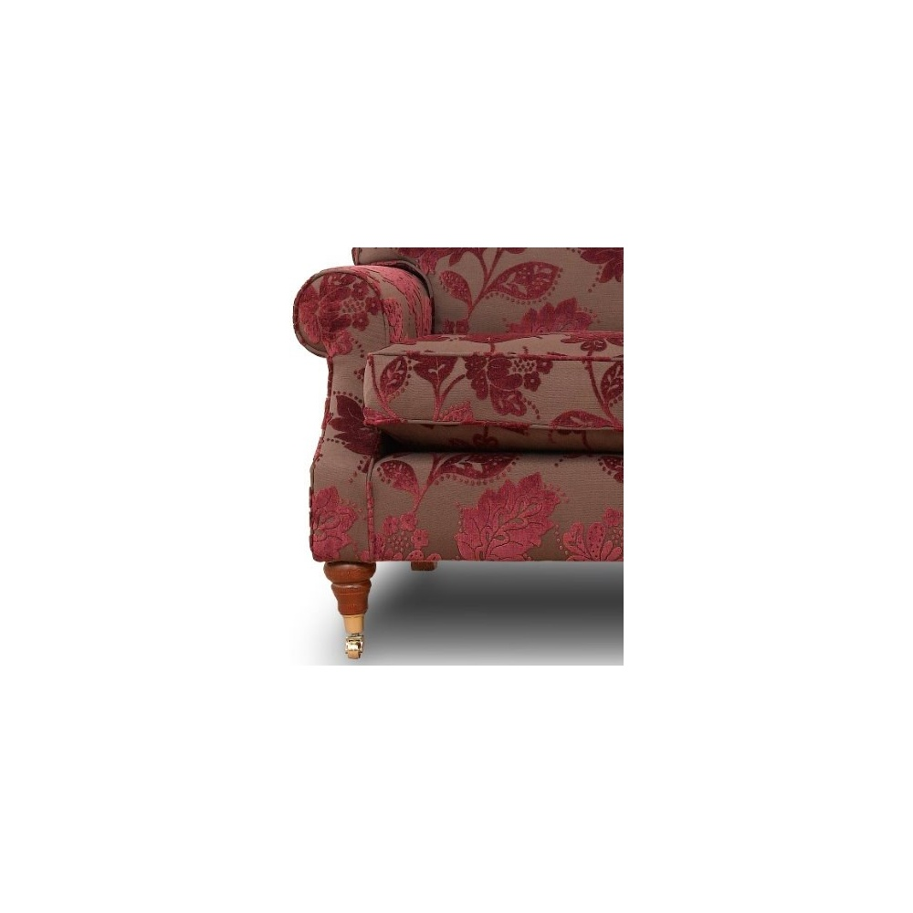 Silvia small classic english 2 seater sofa by home of the sofa Small 2 seater sofa