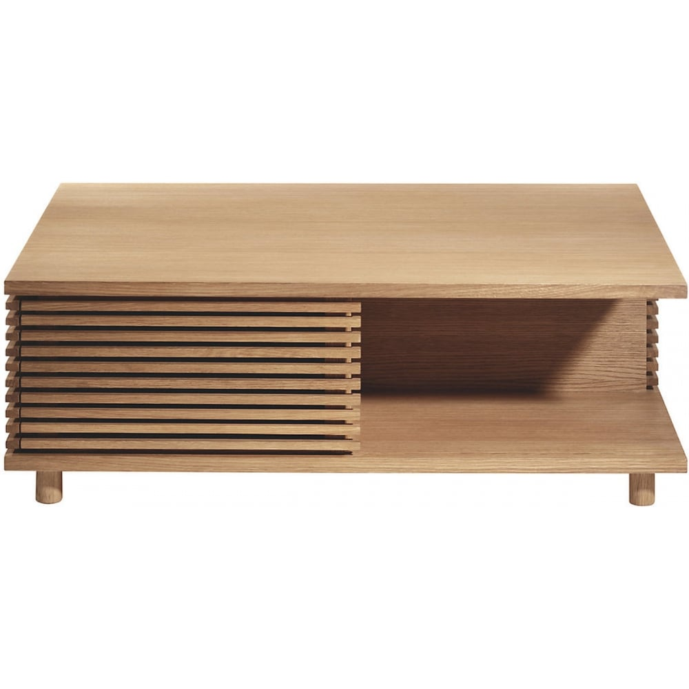 Buy Conran Aiken Style Slatted Oak Coffee Table At Home Of The Sofa
