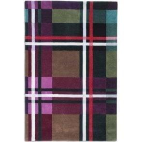 Tartan Pure Wool Rug 120cm x 170cm