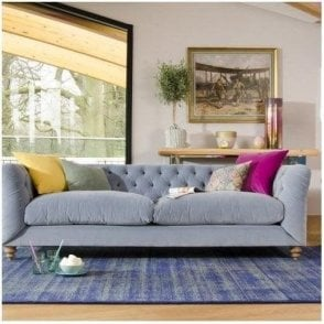 Tetrad Truffle Sofa and Snuggler Range