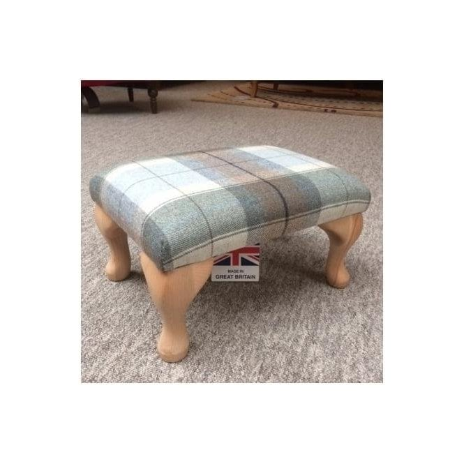 Tommy Small Upholstered Wool Stool