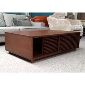 Verona Type Slatted Coffee Table