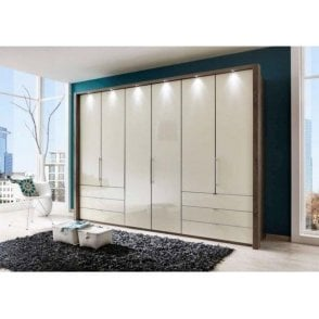 Wiemann Loft Bi-folding door wardrobes